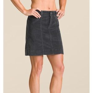 Athleta Roseville Skirt Flint Grey